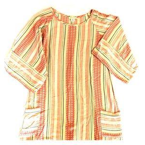 Striped STARK dress